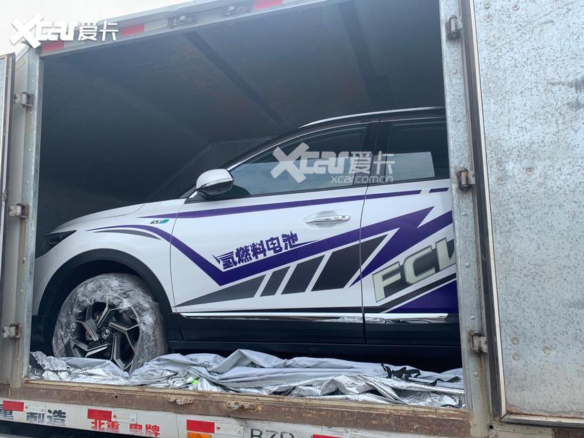 北京车展探馆:东风氢舟氢燃料电池车