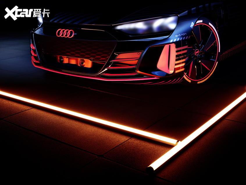 奥迪e-tron GT官图曝光或将于年底投产