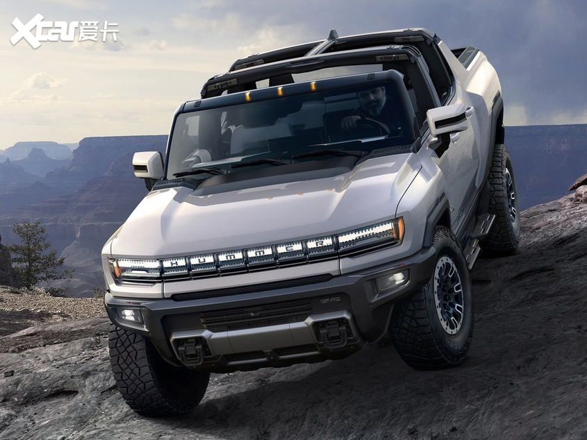 悍马EV正式发布 最大功率可达1000马力