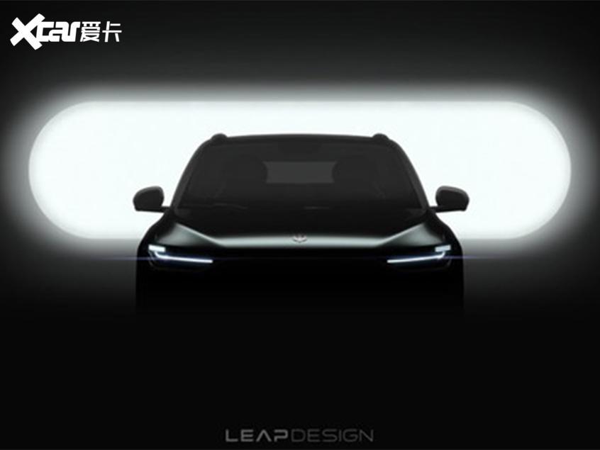 零跑C11预告图曝光 将于广州车展亮相