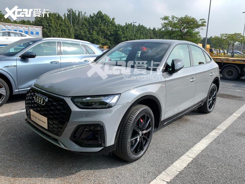 广州车展探馆:奥迪Q5L Sportback实车