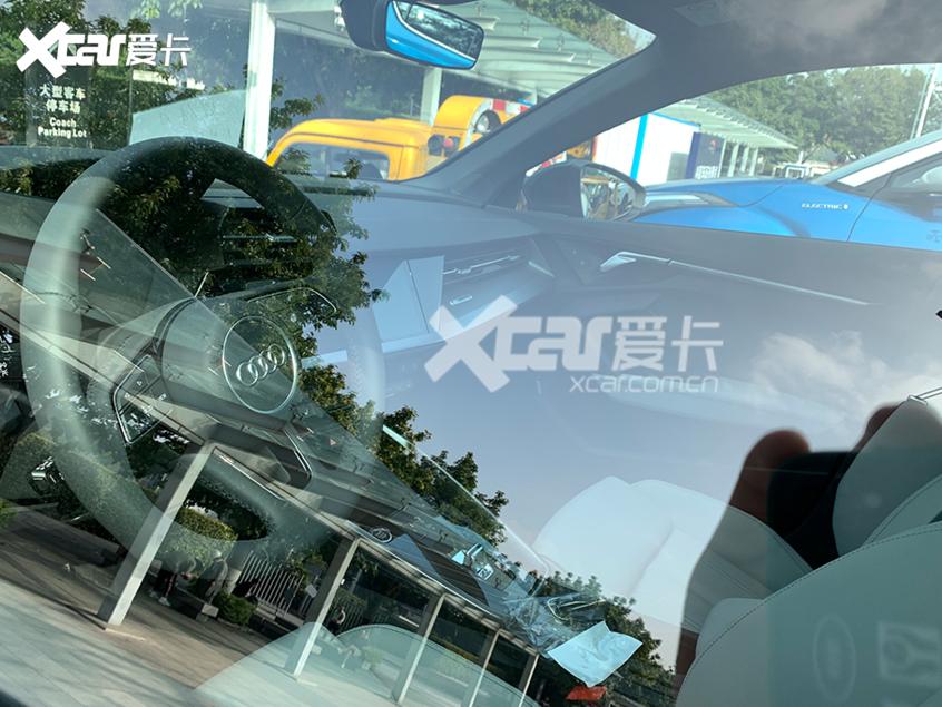 广州车展:全新奥迪A3L Limousine实拍
