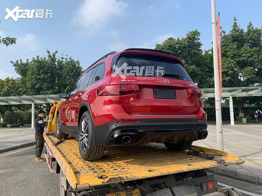 广州车展探馆 全新梅赛德斯-AMG GLB 35