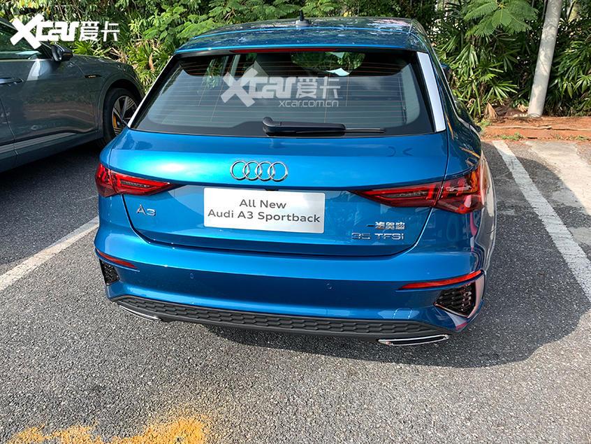 广州车展探馆:新款奥迪A3两厢版实车