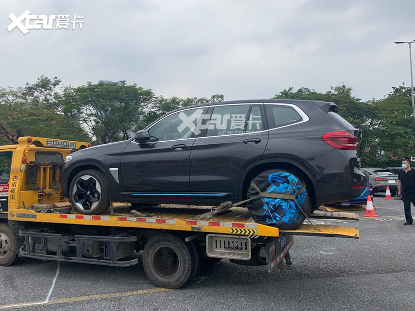 广州车展探馆:华晨宝马iX3实车抢先看