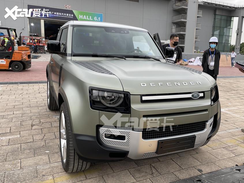 广州车展探馆:全新路虎卫士90抢先看