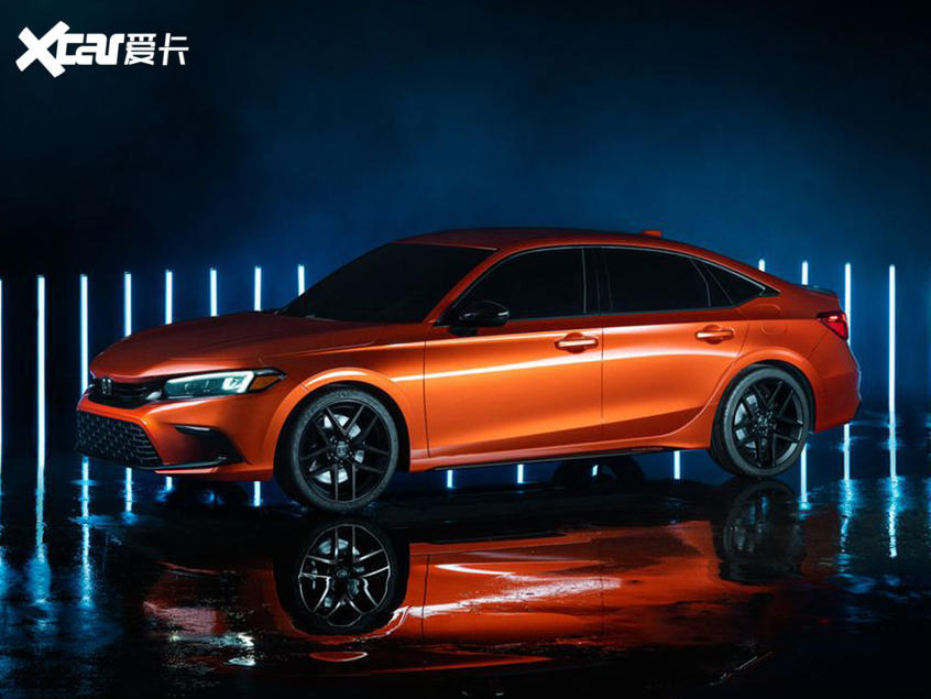 新一代思域原型车正式发布将明年上市