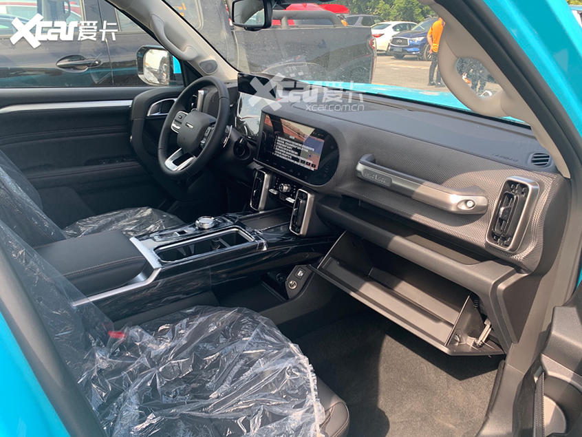 广州车展探馆:哈弗大狗2.0T车型实车