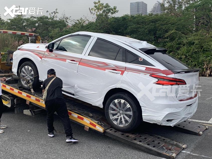 2020广州车展探馆:传祺GS4 COUP特别版