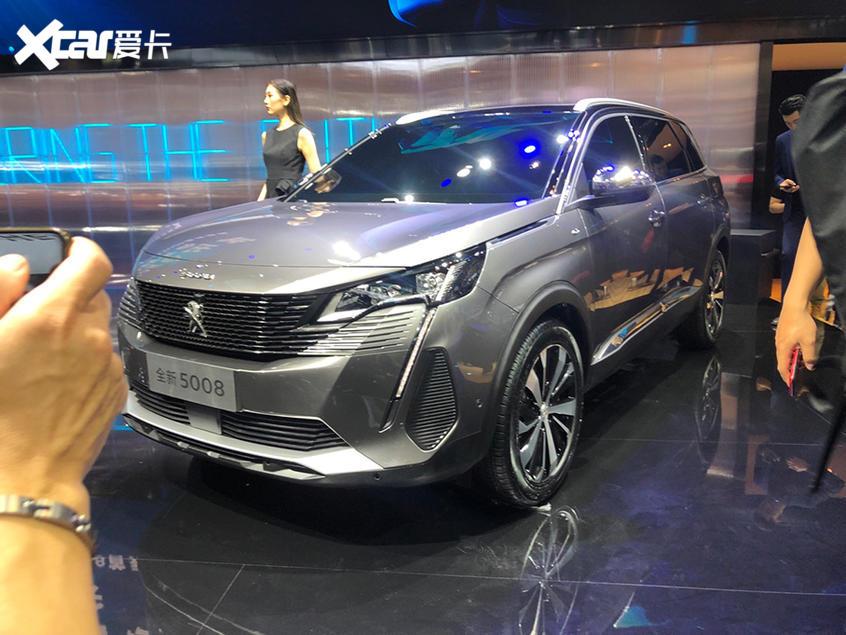 广州车展:新款东风标致5008正式亮相