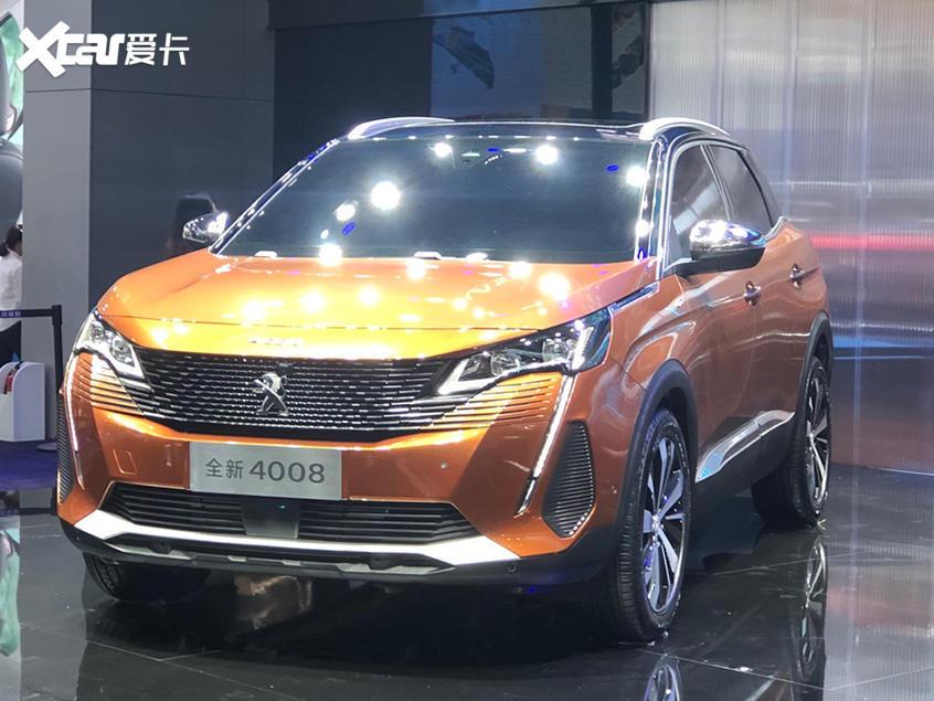 广州车展:新款东风标致4008亮相