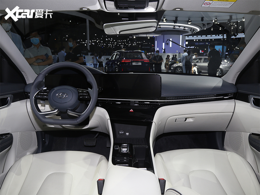 2020广州车展:北京现代全新名图纯动版
