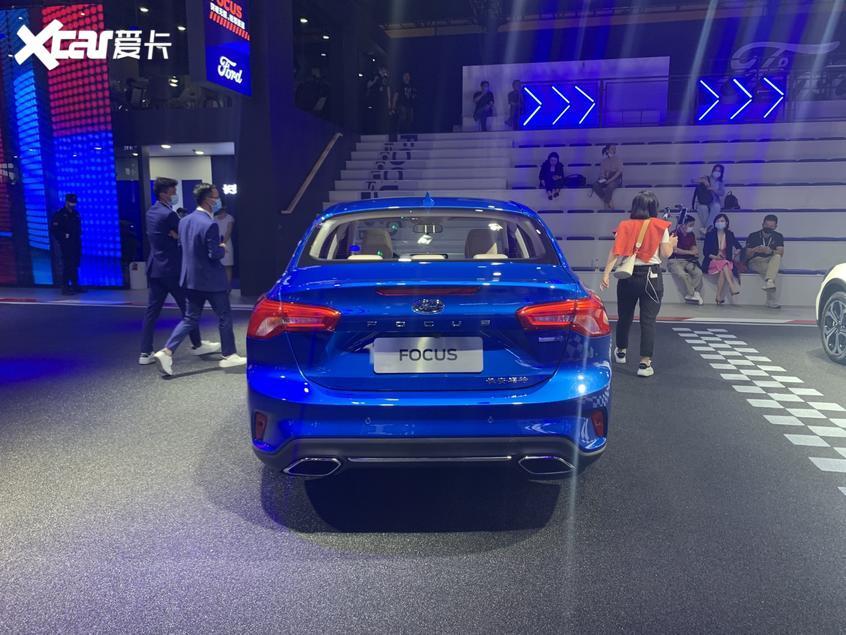 广州车展:2021款福克斯家族正式上市