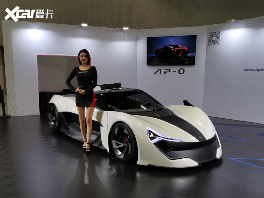 广州车展:电动跑车APEX AP-0正式亮相