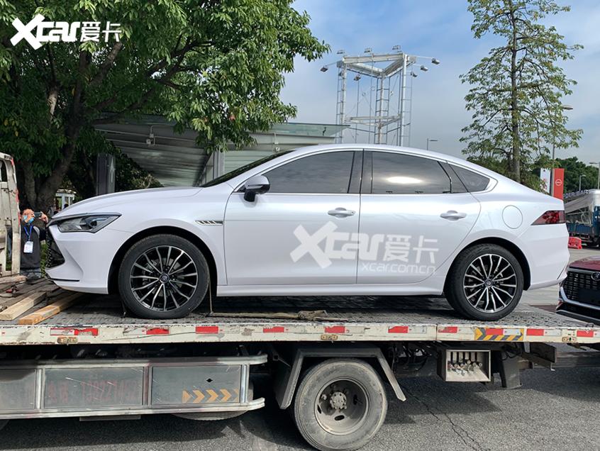 2020广州车展探馆:比亚迪秦PLUS实拍图