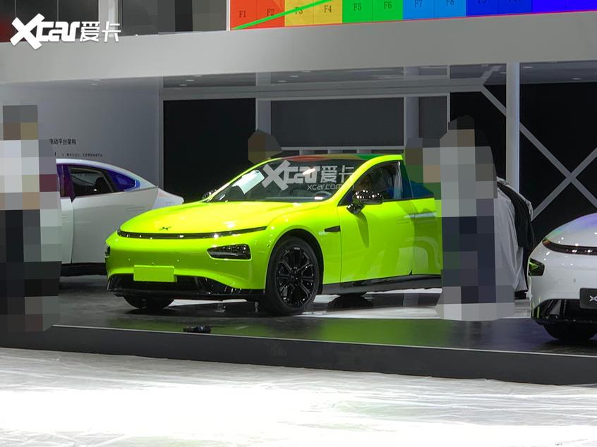 广州车展探馆:小鹏P7剪刀门版实车曝光