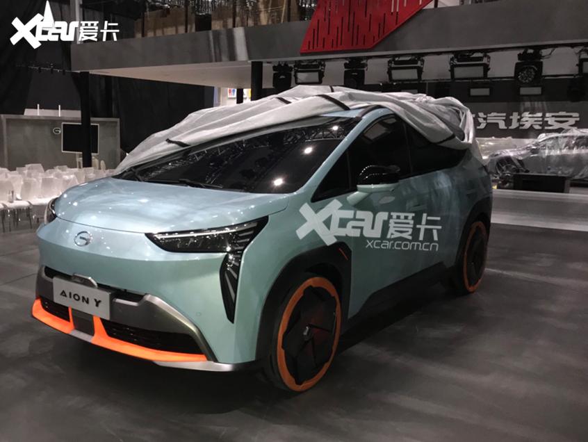 广州车展探馆:埃安第四款车