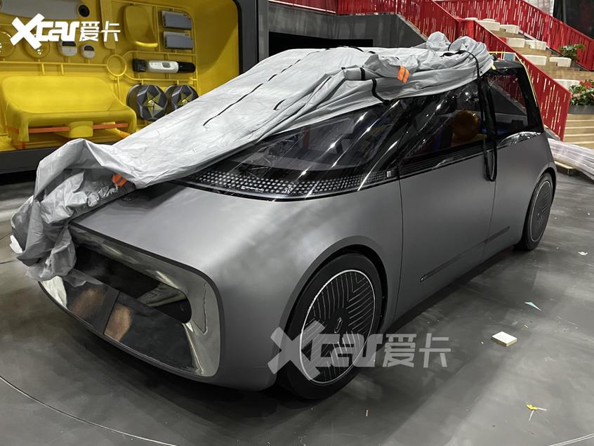 广州车展探馆:广汽MOCA概念车抢先看