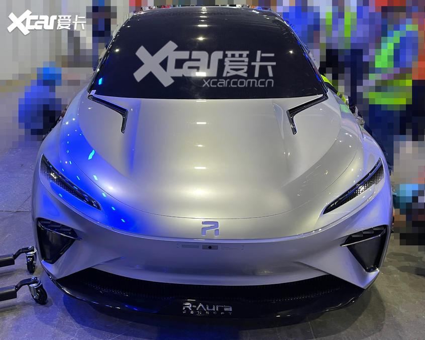 广州车展探馆:上汽R汽车极光号抢先看