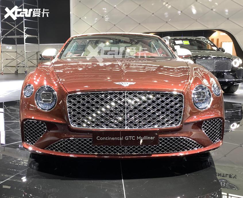 广州车展探馆:欧陆GT Mulliner敞篷版