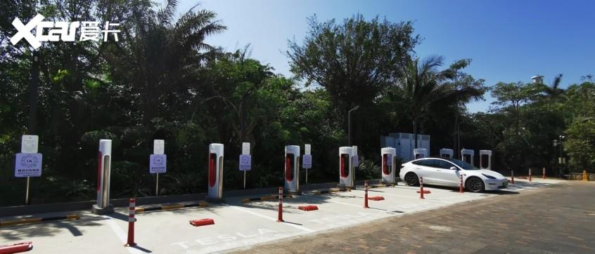 特斯拉中国大陆超级充电桩数量突破6000