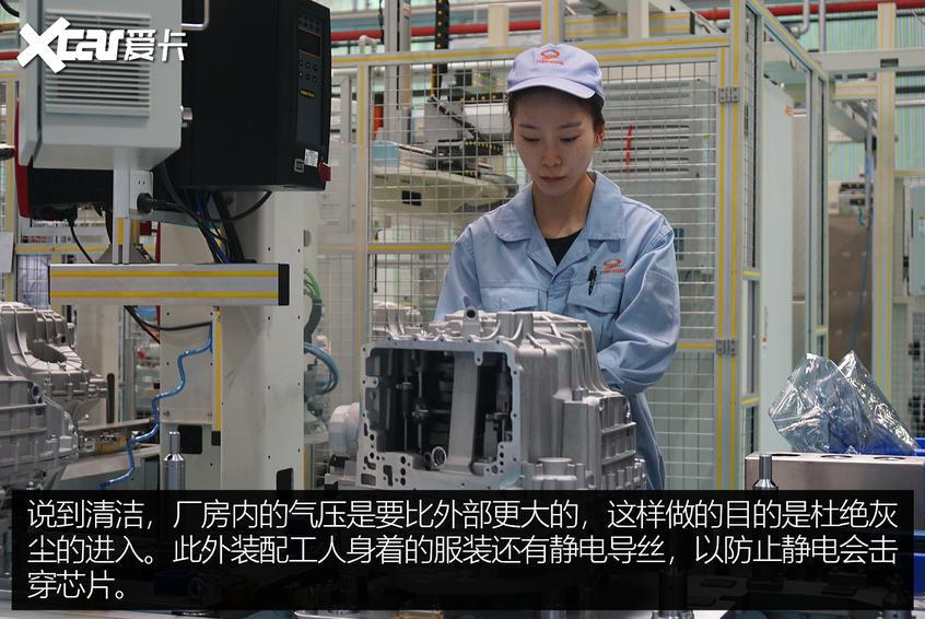 青山变速箱厂参观