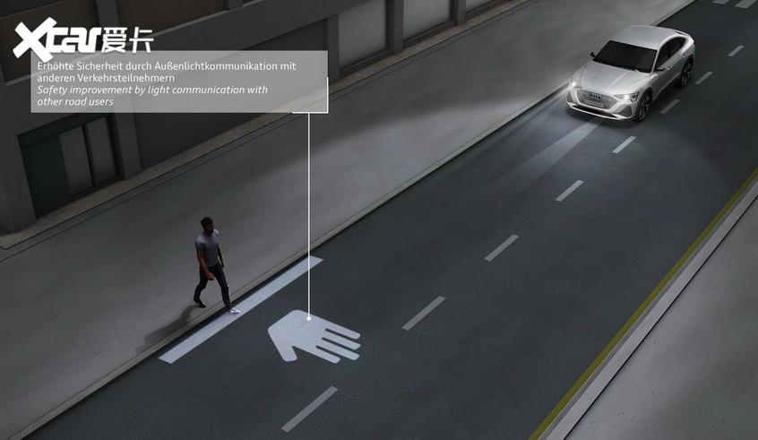 奥迪车灯技术